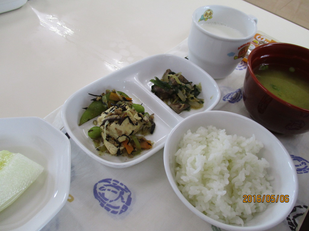 レバニラ炒め&炒り豆腐